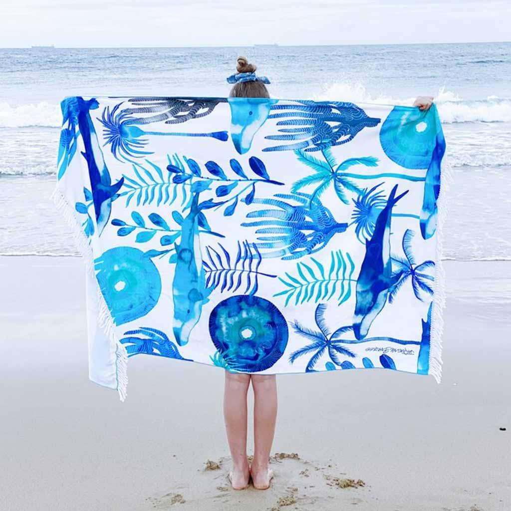 Jaqueline Burgess Beach Towel Gift Guide