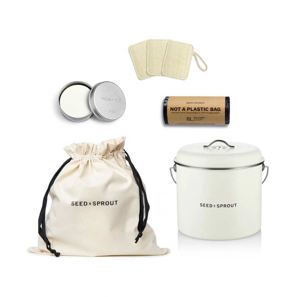Seed & Sprout The Home Composting Gift Set
